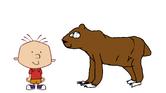 Stanley Griff meets Brown Bear