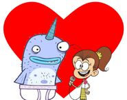 Narwhal and Luan Loud