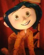 Coraline Jones smile