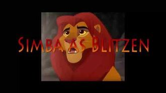 Kion the Red Nosed Lion Cub The Movie cast video