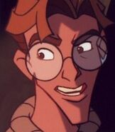Milo Thatch As Verne The Turtle