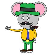 Mr. Einstein Hamster (Mad Hatter) (pipe)
