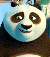 Po in Kung Fu Panda 3