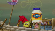 Spongebob and patrick and mayo