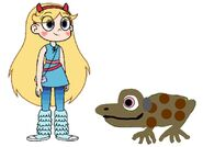 Star Meets Cane Toad