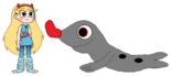 Star meets Hooded Seal