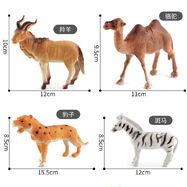 A Camel A Giraffe A Rhinoceros and An Elephant