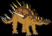 Amber the Kentrosaurus
