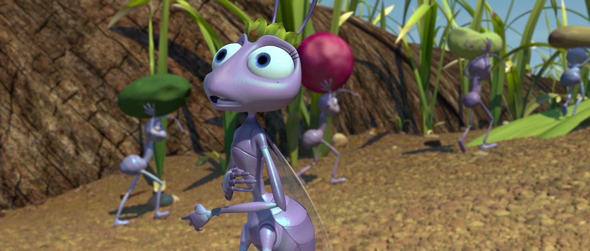 It's just a picture of Enterprising A Bugs Life Dot