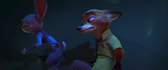 Judy and nick gets up in the cells