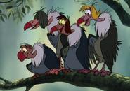 Jungle Book 1967 Vultures