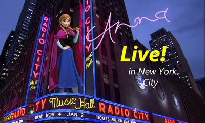 Anna Live! in New York City