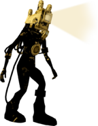 Bendy-projectionist