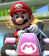Mario in Mario Kart 8