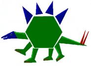 Math blaster jr spectacular shape circus hexagon dinosaur