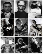Monsters in horror movies