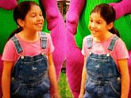 Rachel and twin sister Rita