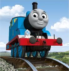 43097719225 Thomas Thomas is a small blue tank engine.