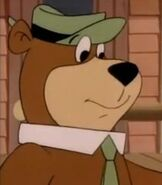 Yogi Bear in The Good, the Bad, and Huckleberry Hound