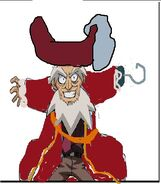 Dr Z as Captain Hook