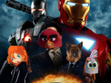 Iron-Angry Bird 2 (Iron Man 2)