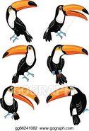 Six Toucans
