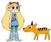 Star Meets Zebra Duiker