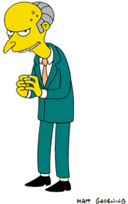 The Simpsons Mr. Burns