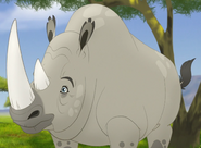 White Rhinoceros TLG