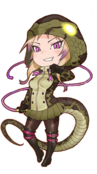 African rock python kemono friends