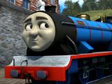 Bert the Blue Miniature Engine
