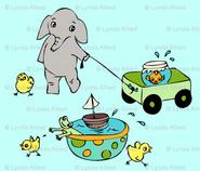 Goldfishes Elephants and Chicks