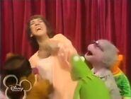The Muppets tickling Ruth Buzzi