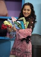 Leela in the laundromat