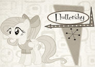 Fluttershy of the 50s