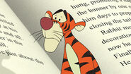 Tigger realizes what's happening