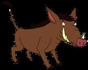 Warnald the Warthog