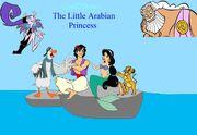 Coolzdane s the little arabian princess by cartoonparadiseagain-d4outla