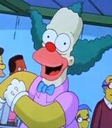 Krusty the Clown in The Simpsons Ride