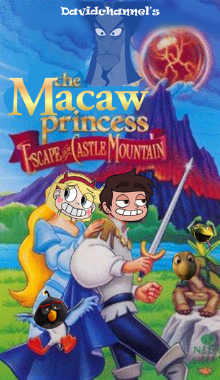 The Macaw Princess II Escape from Castle Mountain (1997) Poster