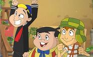 Chavo, Quico and Junior