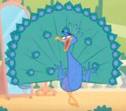 Peacock From Sherlock Yack