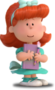 Little red haired girl peanuts movie