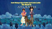 The Road To Atlantis J B Eagle Poster