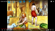 Noah's Ark Sheeps Cattle Horses Pigs Goats Mules