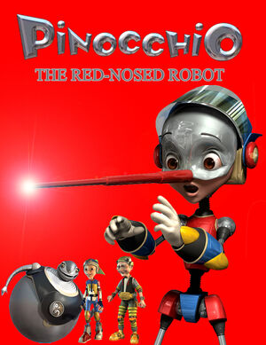 Pinocchio the Red-Nosed Robot