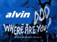 Alvin doo where are you