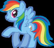 Canterlot Castle Rainbow Dash 3