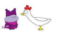 Chowder meets Domestic Chicken