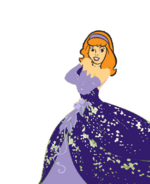 Daphne Blake dressed as princess(2)